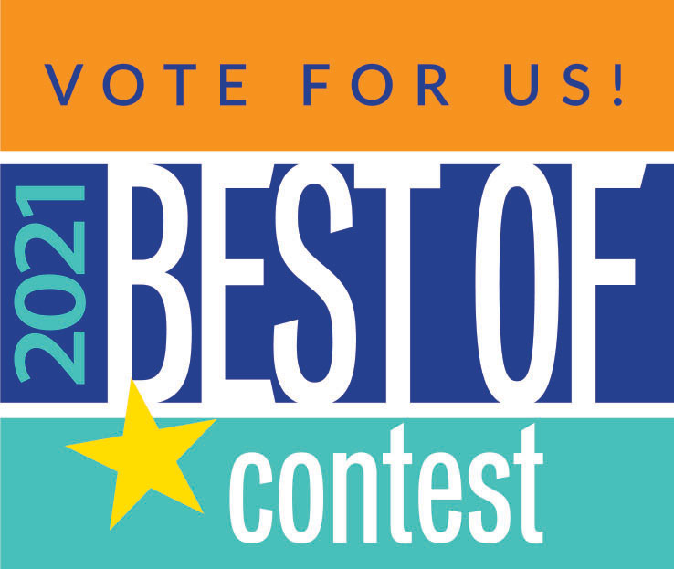 Vote For Us - 2021 Best Of Contest